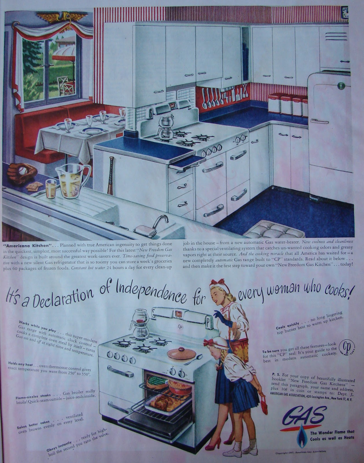 Color My World: 1947 Kitchen