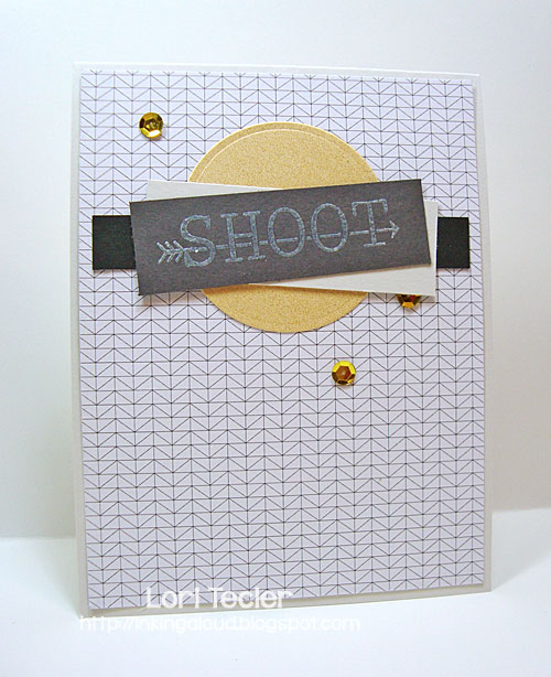 Shoot card-designed by Lori Tecler/Inking Aloud-stamps from Avery Elle