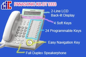 Spesifikasi Telepon KX-DT333