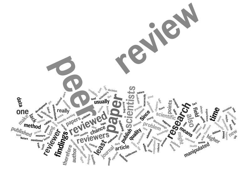 How to write a peer review essay