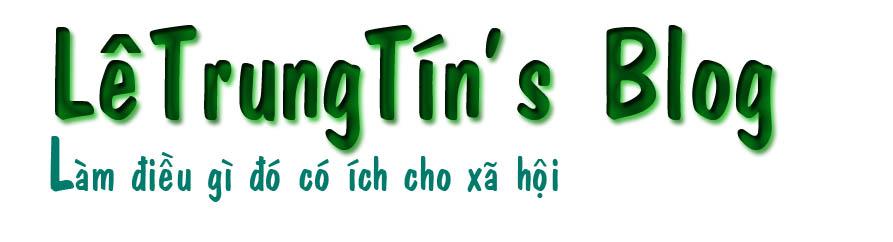 LêTrungTín's Blog