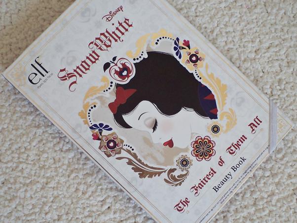 Beauty Book Snow White Resenha Review Branca de Neve Elf Paleta