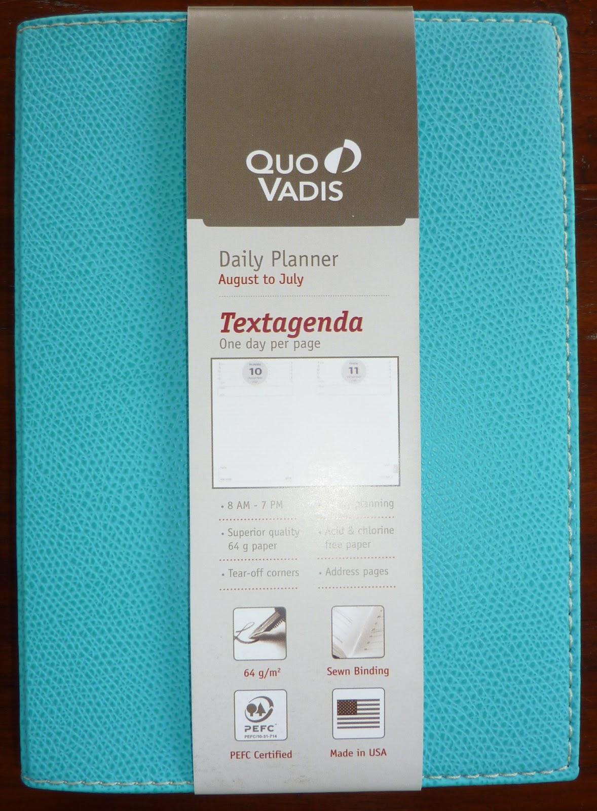 Textagenda quo vadis