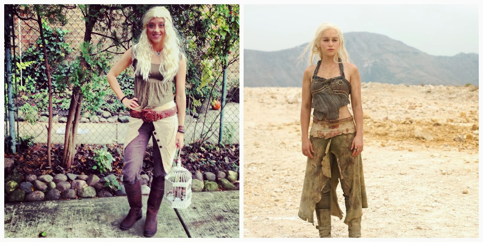 Createlive: Khaleesi Game of Thrones Costume - Clearly I ...