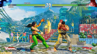 street fighter v laura vs ryu