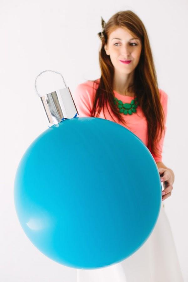 Unas bolas de navidad gigantes manualidades - Bolas navidad gigantes ...