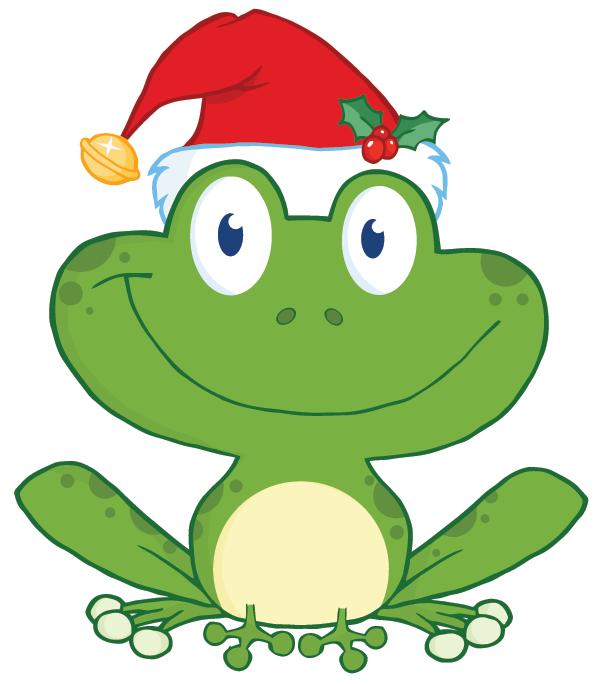 Christmas Frog Icon