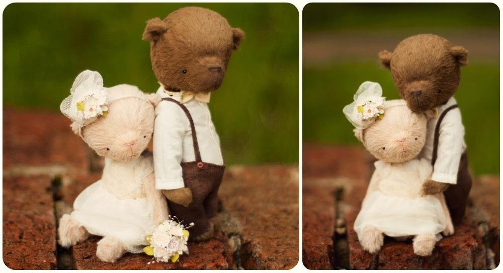 мишки тедди, свадебные мишки тедди, подарок на свадьбу, мишка тедди сшить, ручная работа