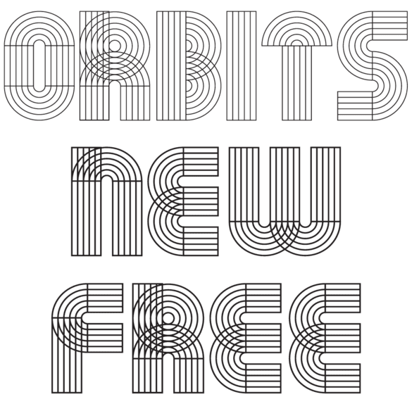Orbits Free Font