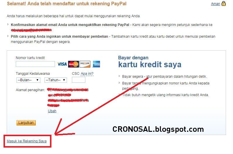 Cara Membuat Akun PayPal tanpa Verifikasi Kartu Kredit dan VCC