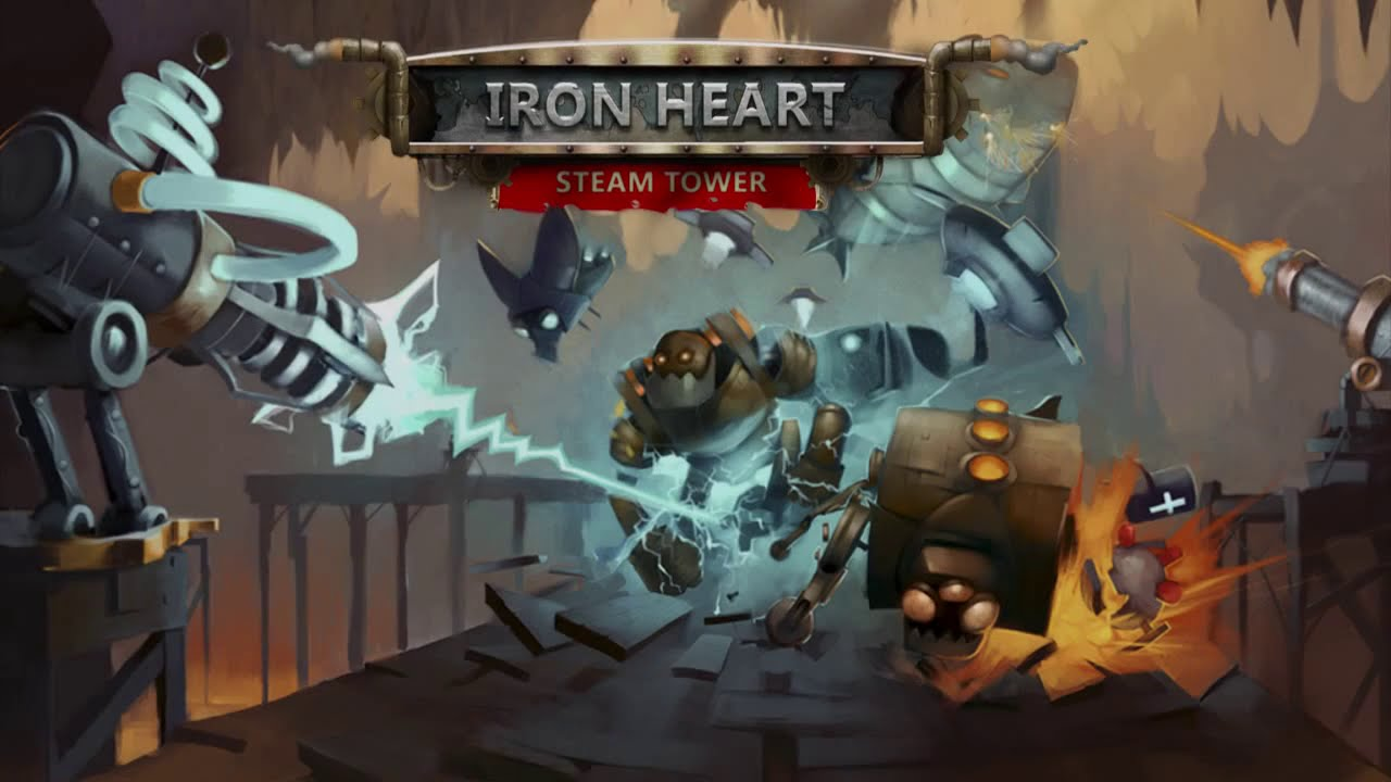 Iron Heart: Steam Tower TD Gameplay IOS / Android