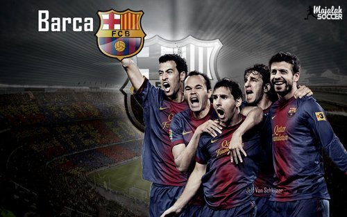 Wallpapers Barcelona 2012-2013