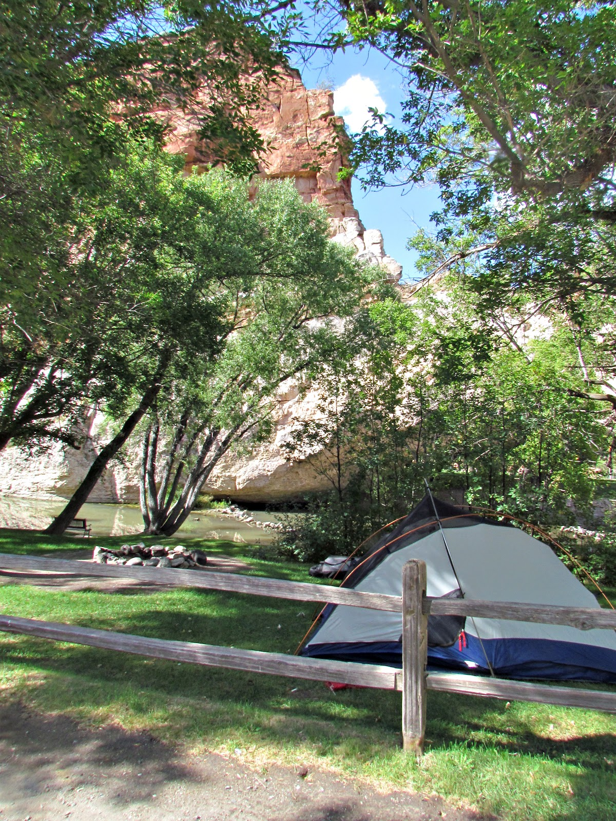 Ayres Natural Bridge Park Camping