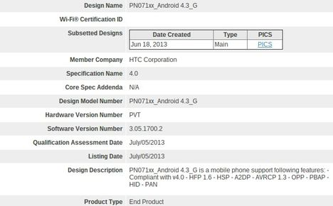 Android 4.3, Android 4.3 Jelly Bean, HTC, HTC One Google Play Edition