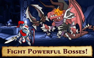 Screenshots of the Defenders & dragons for Android tablet, phone.