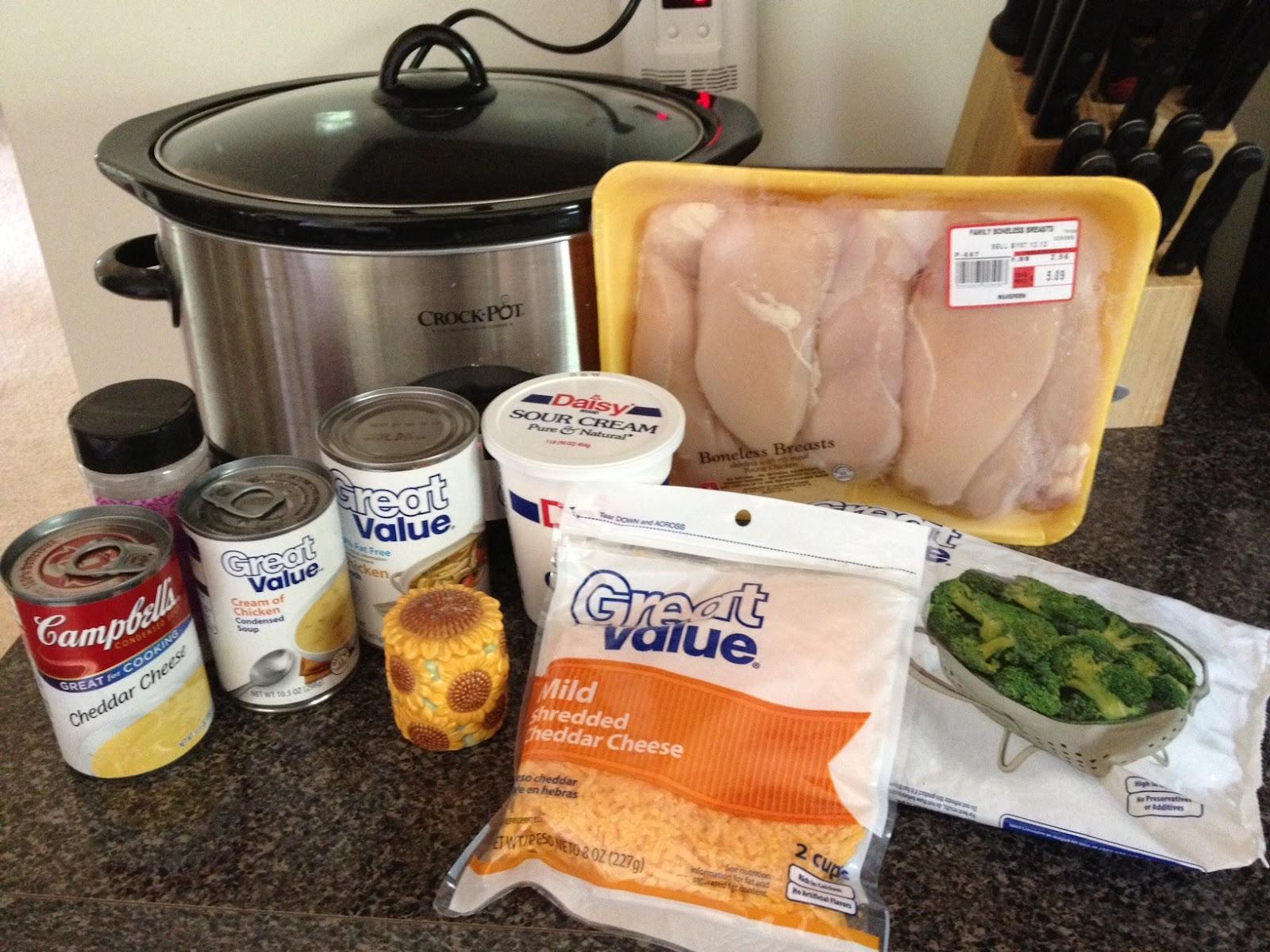 Clipping Money: Crock-Pot Cheesy Chicken & Broccoli Over Rice Recipe