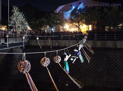Orihime Hikoboshi tanabata in katano osaka japan