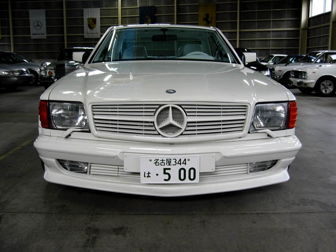 Mercedes benz w126 560 sec amg 6 0 dohc benztuning for Mercedes benz w126