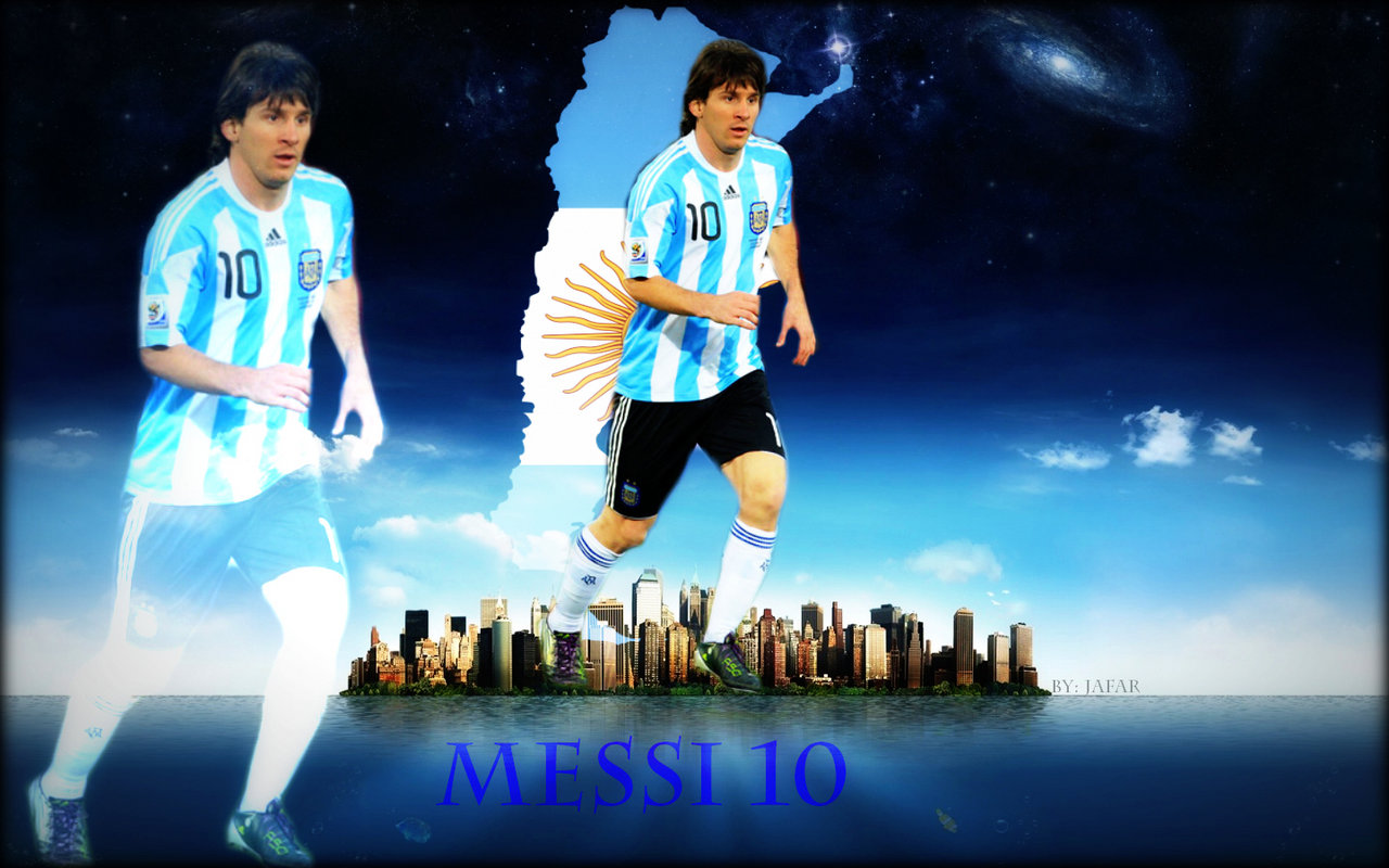 Wallpaper Lover Messi 2012 Hd