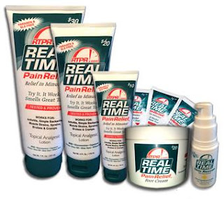 real time pain relief family of products