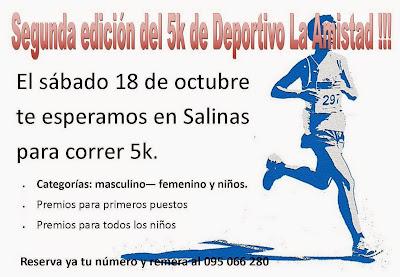 5k La amistad - La revancha (Salinas, 18/oct/2014)