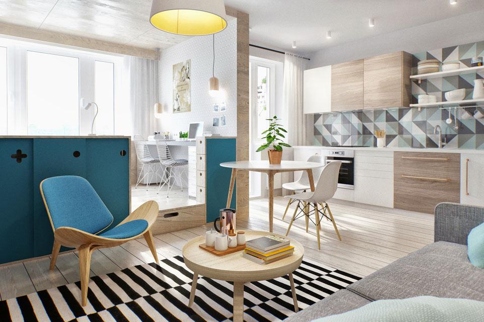 40 m2 d 39 astuces et de d co scandinave - Deco inspiration scandinave ...