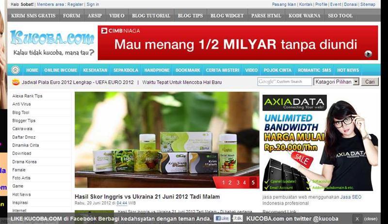 Kucoba.com Blog Kumpilan Informasi Maya