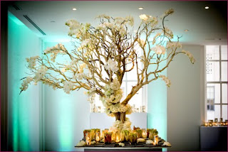 Great Tall Wedding Centerpieces With Branches