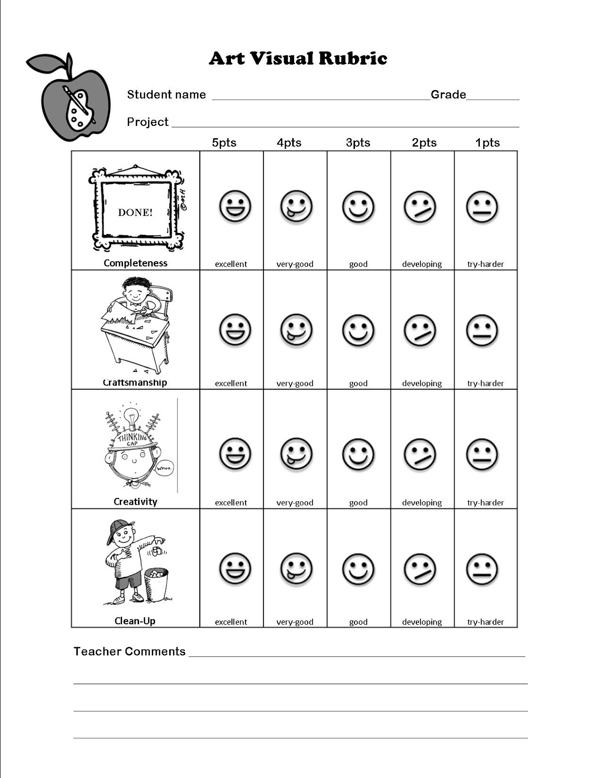 Participation rubric esl essay
