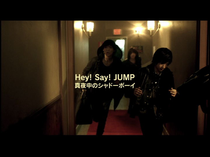 Today's pv is Hey Say Jump's