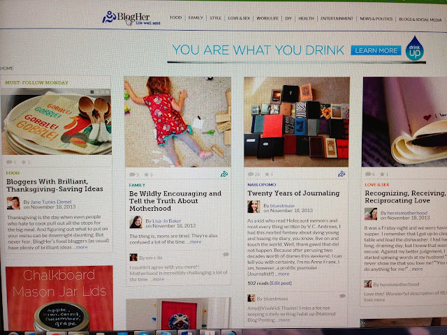 A grateful heart: Getting featured on BlogHer