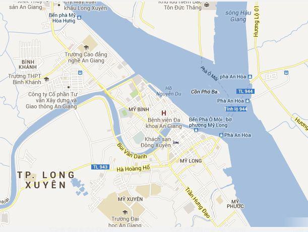 Bản đồ du lịch An Giang