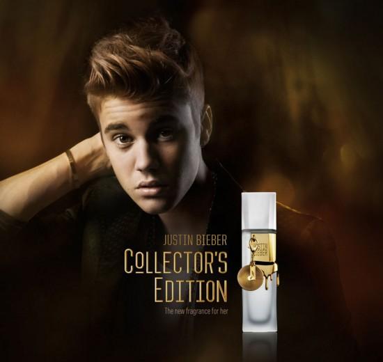 Perfume edición coleccionista de Justin Bieber