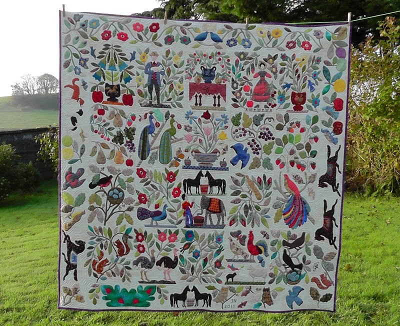 Civil War Bride quilt