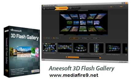 Aneesoft 3D Flash Gallery v2.4 + KeyGEN