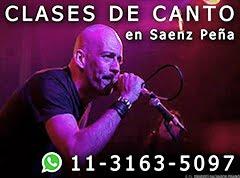 Clases de canto en Saenz Peña - Teléfono y WhatsApp: 11-3163-5097