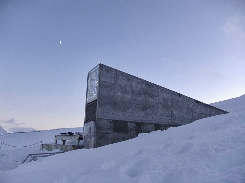 The facility has also been located so deep inside the mountain that any changes to Svalbard's climate will not affect the efficacy of the permafrost, and thus keep the seeds safe.