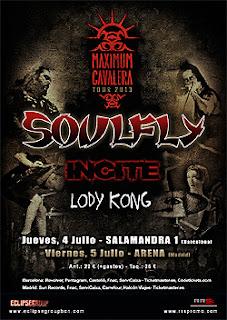 Conciertos de Soulfly