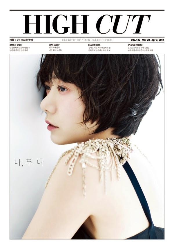 Bae Doo Na - High Cut Magazine Vol.122