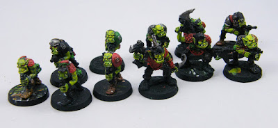 Warhammer 40K Space Ork Raiders - WIP