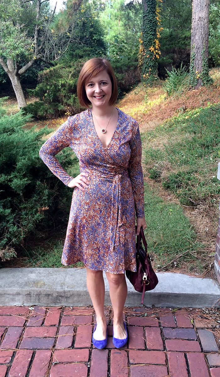 How Do Dvf Wrap Dresses Fit This particular dress is Diane
