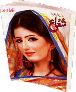 Shua Digest July 2013 PDF Free Download in Pdf. Pakistani monthly