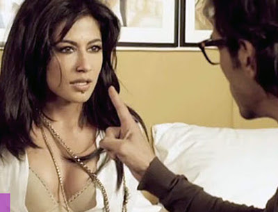 Arjun Rampal as Rahul Verma and Chitrangada Singh as Maya Luthra, Directed by Sudhir Mishra, Rahul harasses Maya