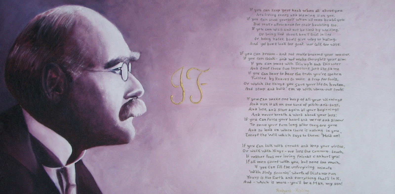 an s daily analysis of if by rudyard kipling analysis of if by rudyard kipling
