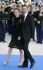 Asma al-Assad &amp; Bashar al-Assad, President, Syria