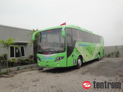 Bus Galaxy Karoseri Tentrem