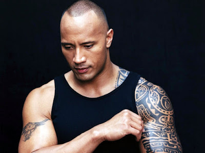 Dwayne Johnson tattoos actor