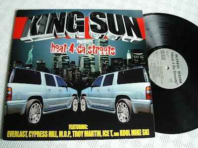 King Sun – Heat 4 Da Streets (2002, Vinyl EP, VBR)