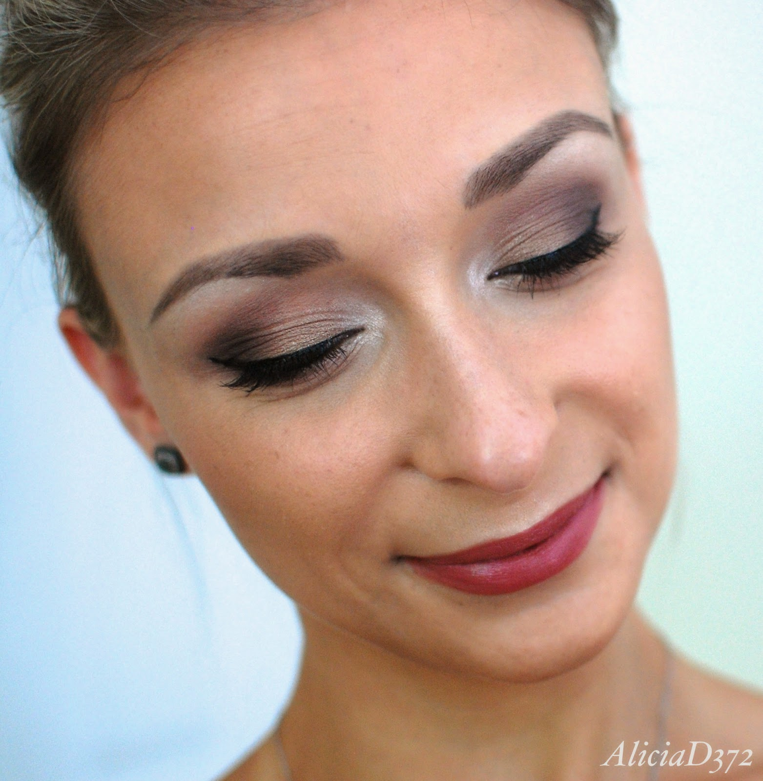 Aliciad372 september 2014 wedding makeup tutorial 1 baditri Images