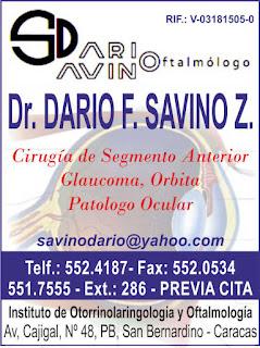 DR. DARIO F. SAVINO Z. en Paginas Amarillas tu guia Comercial